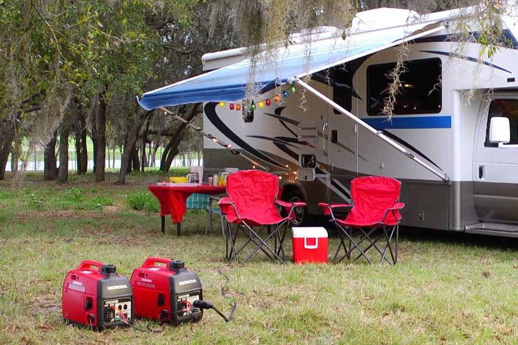 how to make a generator quiet for camping