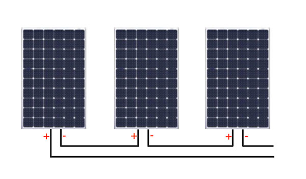 solar panels in series