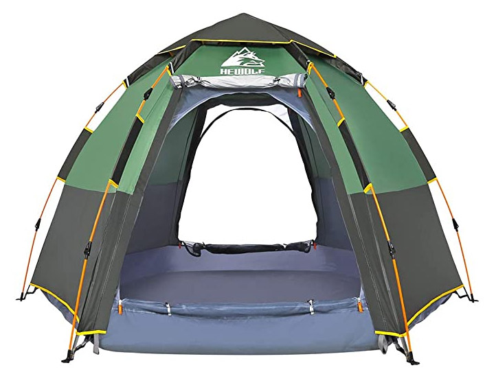 HEWOLF Camping Tents 2-4 Person [Instant Tent]