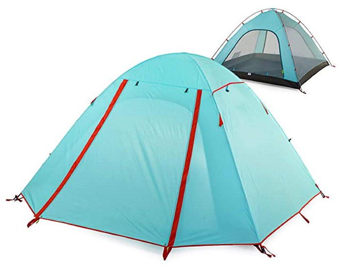 TRIWONDER 2-3-4 Person 3 Season Camping Tent